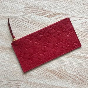 Louis Vuitton Mono Zippy Felicie Pouch Insert